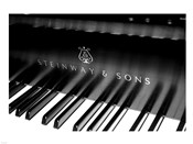 Steinway & Sons, Piano Keys With Modern Logo