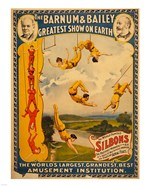 Trapeze Artists, Barnum &amp; Bailey, 1896