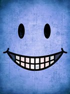Hang up a Smile (blue)