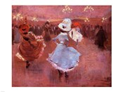 Jean-Louis Forain Can-Can Dancers