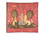 Maiden with Unicorn Tapestry