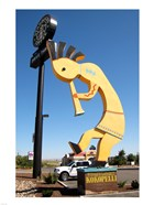 World's Largest Kokopelli