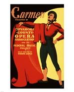 Carmen Matador Playbill 1939