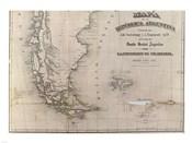 Mapa de la Republica Argentina 1875