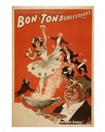 Bon-Ton Burlesquers With Server