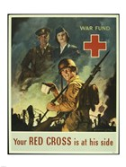 Your Red Cross is at His Side