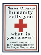 Nurses of America Humanity Calls You Enroll now with the Red Cross