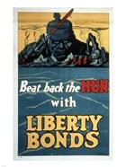 Beat Back the Hun with Liberty Bonds