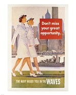Waves Recruiting Poster