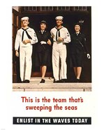 Team Sweeping the Seas