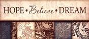 Hope Believe Dream