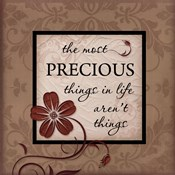 The Most Precious Things