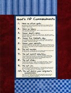 10 Commandments - Boys