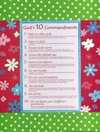 10 Commandments - Girls