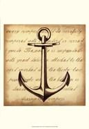 Sepia Captain's Anchor