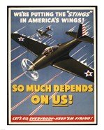 "We're Putting the ""Stings"" in America's Wings!"