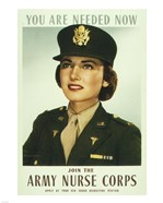 You are Needed Now. Join the Army Nurse Corps