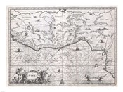 1670 Ogilby Map of West Africa
