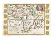 1710 De La Feuille Map of Africa