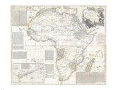 1794 Boulton and Anville Wall Map of Africa