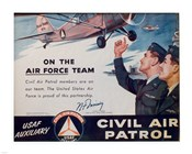 CAP On the Air Force Team Poster