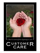 Customer Care Affirmation Poster, USAF