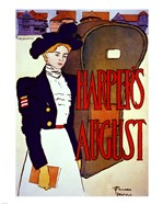 Edward Penfield, Harper's August, 1897