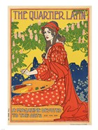 The Quartier Latin, a Magazine Devoted to the Arts, Advertising Poster, ca.1895
