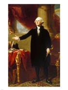 Gilbert Stuart, George Washington Lansdowne Portrait, 1796