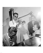 Howard McGhee, Brick Fleagle and Miles Davis, September 1947