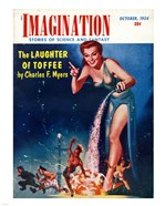 Imagination Cover October 1954