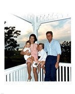 JFK and family in Hyannis Port, August 1962