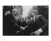 JFK Khrushchev Handshake 1961