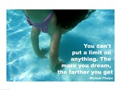 No Limits - Swimming Quote