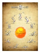 Yoga Cow Sun Salutation