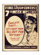 Careless Fires.. Let's Keep Them All Out For Victory