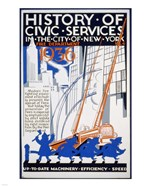 History of Civic Services in the NYC Fire Department 1936