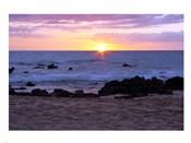 Keawakapu Beach Sunset Long Exposure
