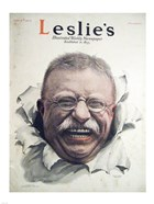 Leslies Illustrated Weekly Newspaper Nov. 1916 Teddy Roosevelt