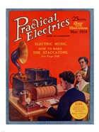 Practical Electrics March 1924 Cover