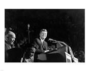 President Addresses State Democratic Chairman George Farr