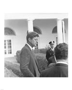 President KennedyGreets Latin American Archivists