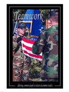 Teamwork Affirmation Poster