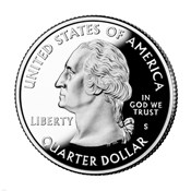 United States Quarter, obverse, 2004