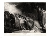 George Romney - William Shakespeare - The Tempest Act I, Scene 1