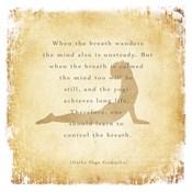 When the Breath Wanders