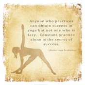 Constant Practice is the Secret of Success