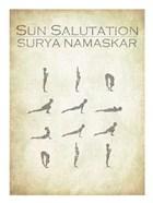 Sun Salutation Chart
