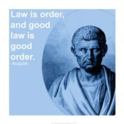Aristotle Law Quote