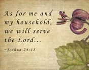 My Household Serves the Lord